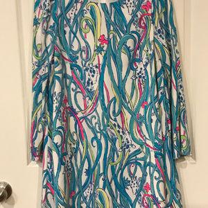 Lilly Pulitzer Colette Dress Giraffe Print